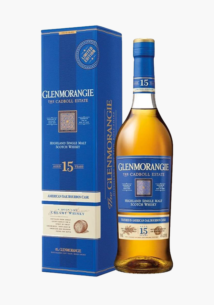 "Glenmorangie ""The Cadboll Estate"" 15 Year Old"