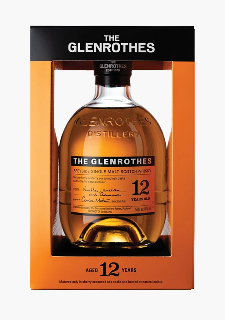 Glenrothes 12 Year Old-Spirits