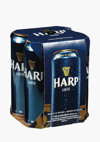 Harp Lager - 4 x 500ml-Beer