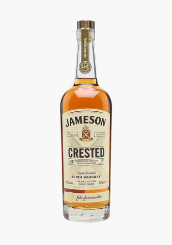 Jameson Crested Irish Whisky-Spirits
