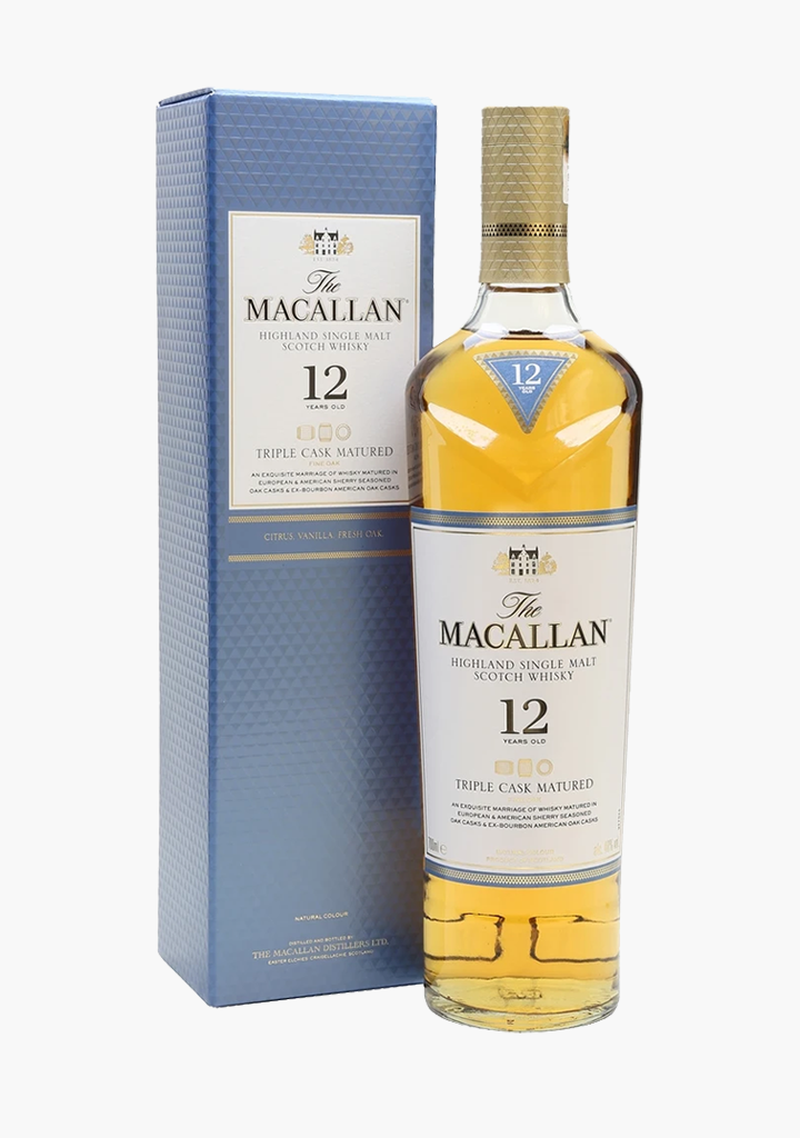 Macallan 12 Year Old Triple Cask-Spirits