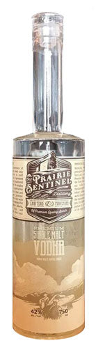 Old Prairie Sentinel Distillery Premium Single Malt Vodka