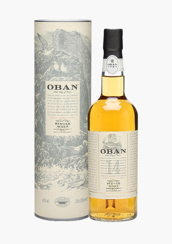 Oban 14 Year Old-Spirits