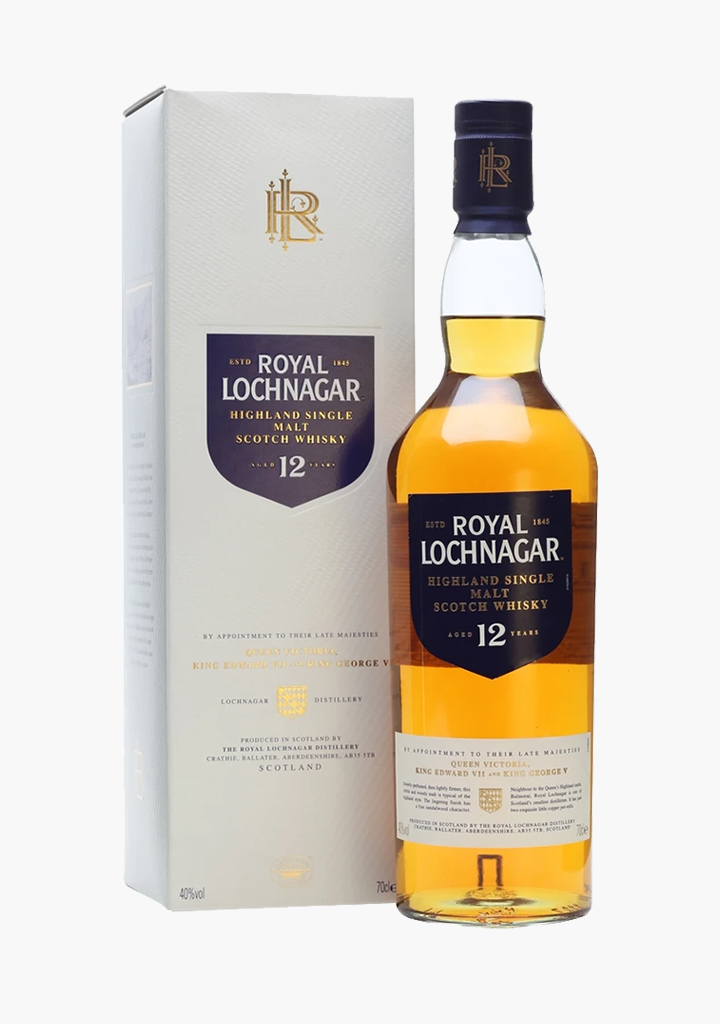 Royal Lochnagar 12 Year Old-Spirits