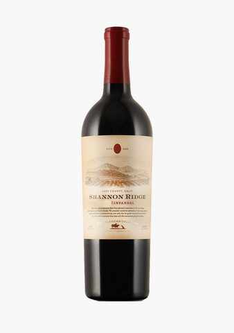 Shannon Ridge High Elevation Zinfandel-Wine