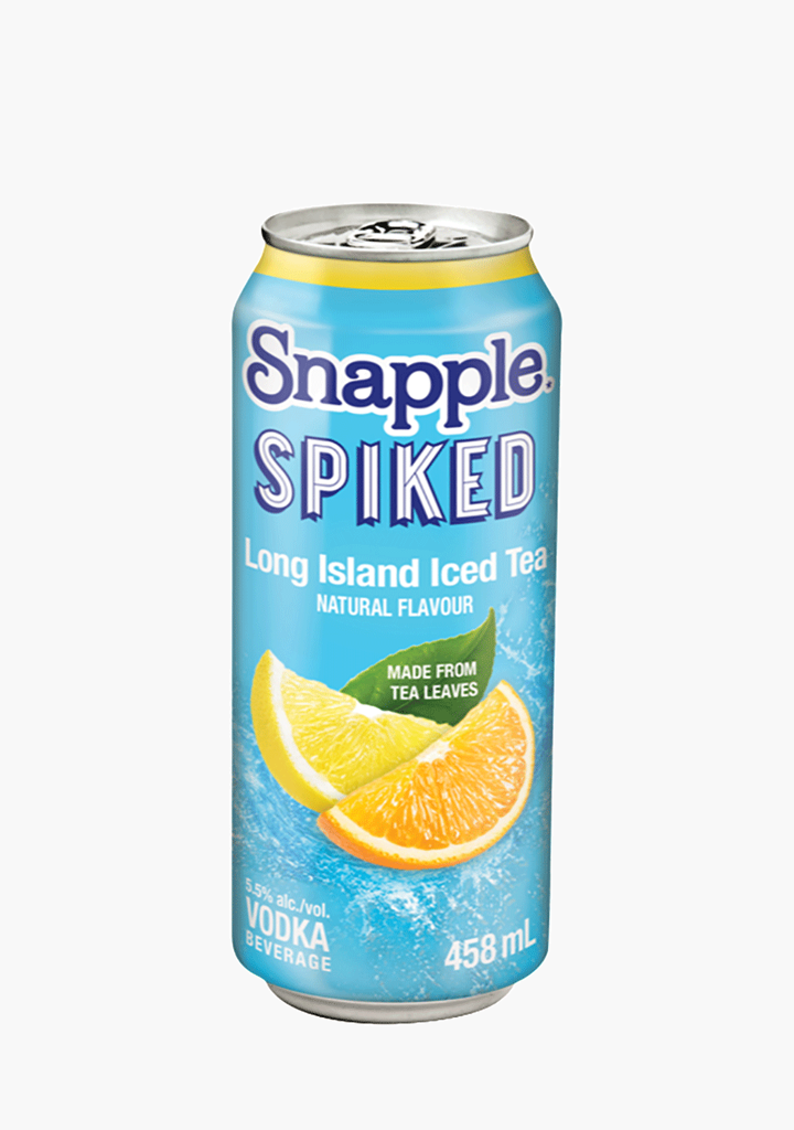 Snapple Spiked Long Island Iced Tea 458ml Willow Park Wines Spirits