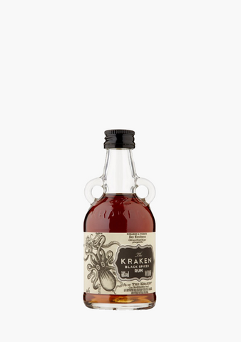 The Kraken Black Spiced Rum - 50ML-Spirits