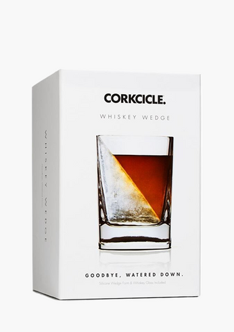 Whiskey Wedge-Glassware