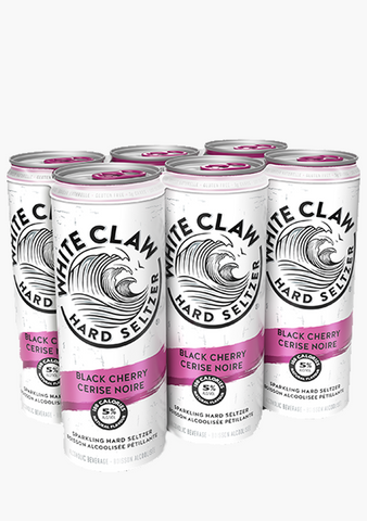 White Claw Black Cherry - 6 x 355ml-Coolers
