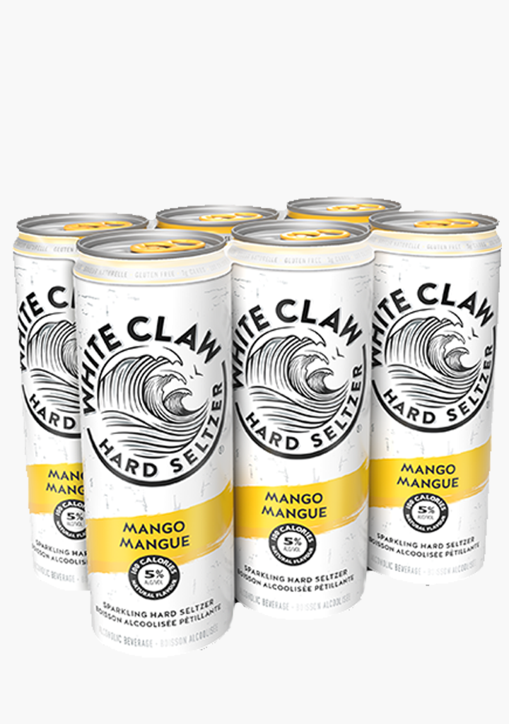 White Claw Mango - 6 x 355ml-Coolers