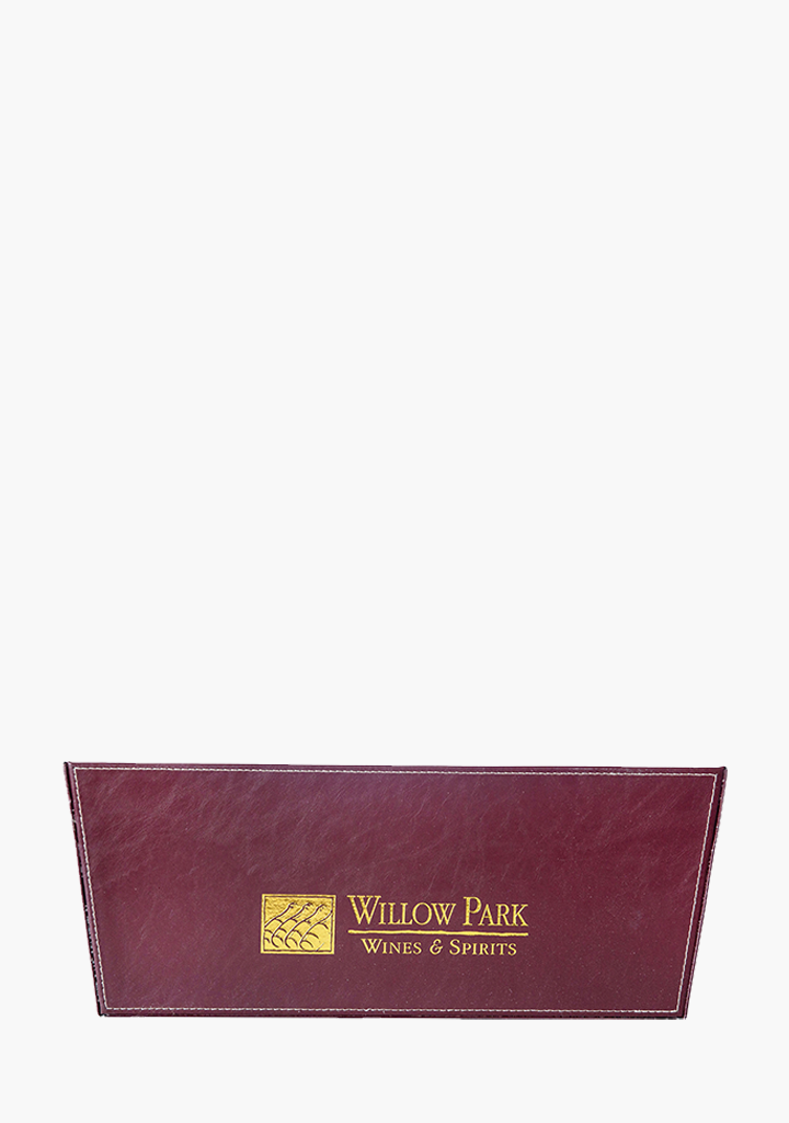 Willow Park Leather Double Leather Basket