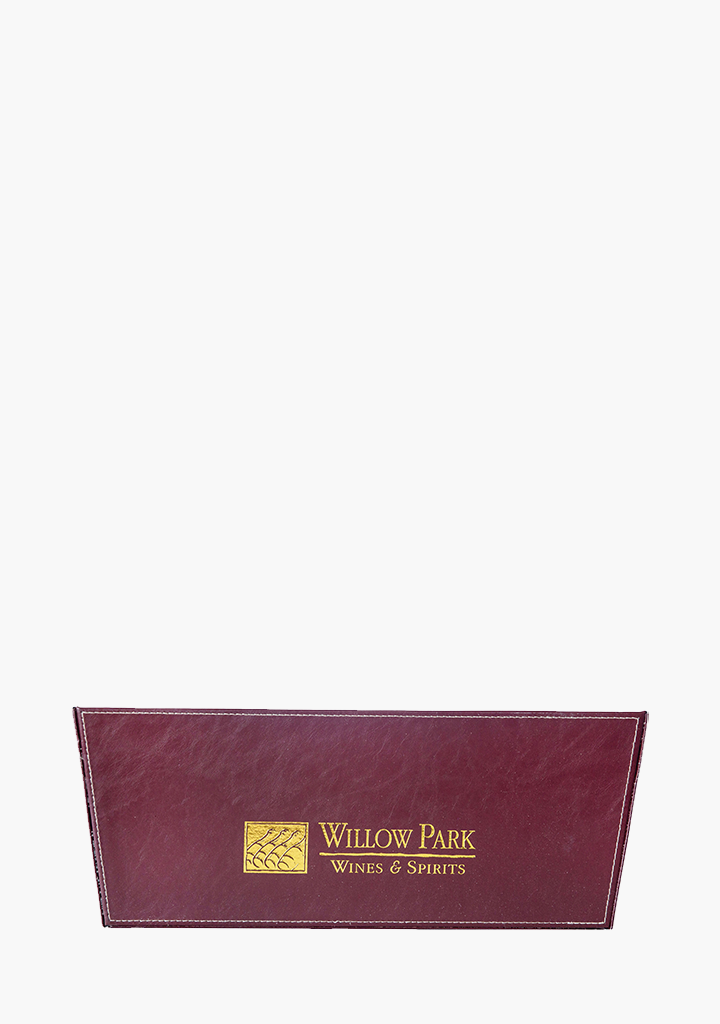 Willow Park Leather Single Basket