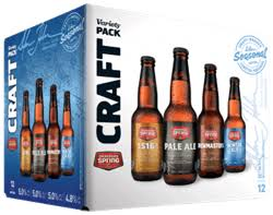 Okanagan Spring Craft Variety Pack 12 x 341 ml