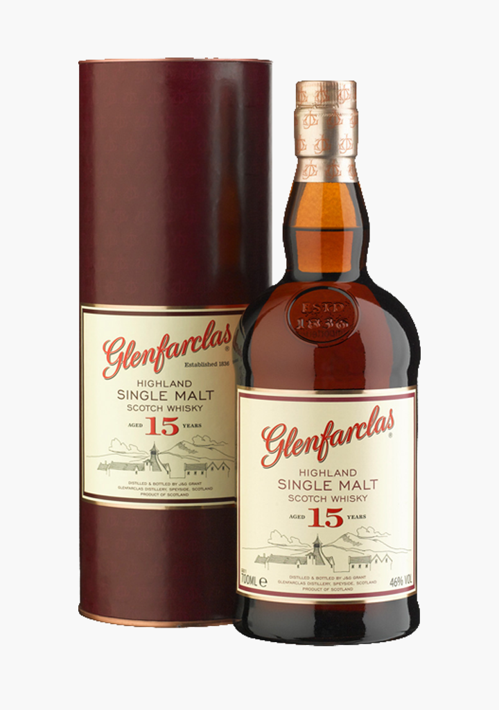 Glenfarclas 15 Year Old-Spirits