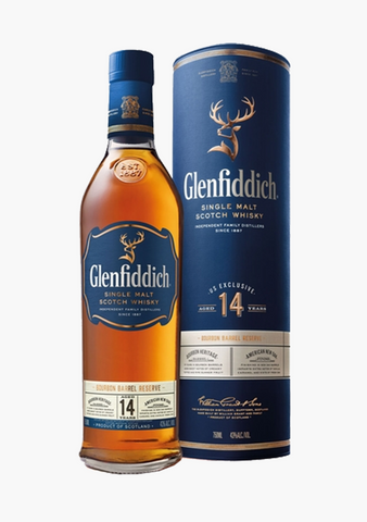 Glenfiddich 14 Year Bourbon Barrel Reserve-Spirits