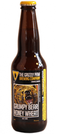 Grizzly Paw Grumpy Bear Honey 6 x 341 ml