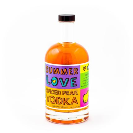 Summer Love Spiced Pear Vodka-Spirits