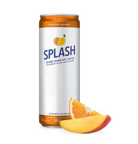 Splash Orange Mango - 4 x 355 ml