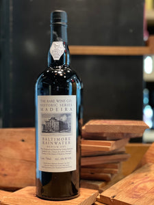 "Madeira, Rare Wine Co. Historic Series ""Baltimore Rainwater"""