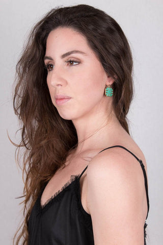 Turquoise Earrings at Misty Boutique