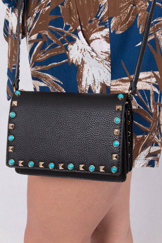 Get The Details Black Purse - $29.00