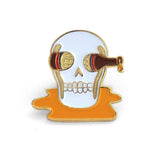 Beer'd To Death Lapel
