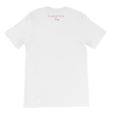 FLAGSTICK Red/White Unisex T-Shirt
