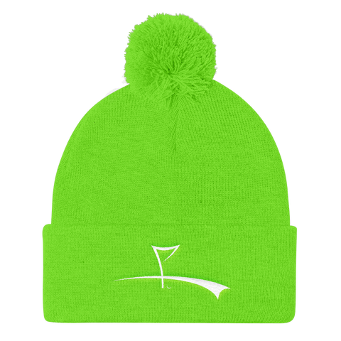 THE LOGO Pom Pom Toque