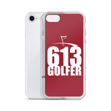 613 GOLFER iPhone Case (Cardinal Red)