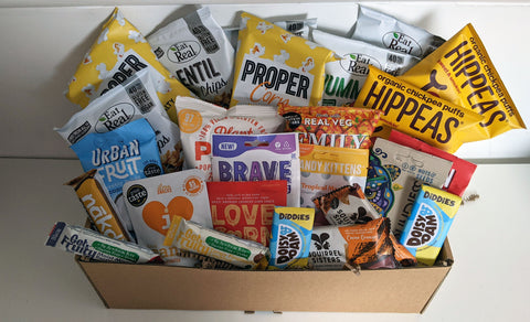 THE ULTIMATE VEGAN & gluten-free Snack Treat Box | Massive Gift Hamper