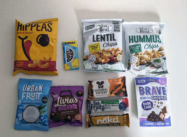 'DISCOVERY' Healthy Snack Gift Box Hamper ( Vegan & Gluten-Free)