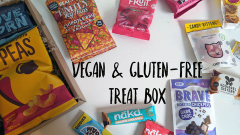 VEGAN & GLUTEN FREE Healthy Snack Treat Box | Large Gift Hamper