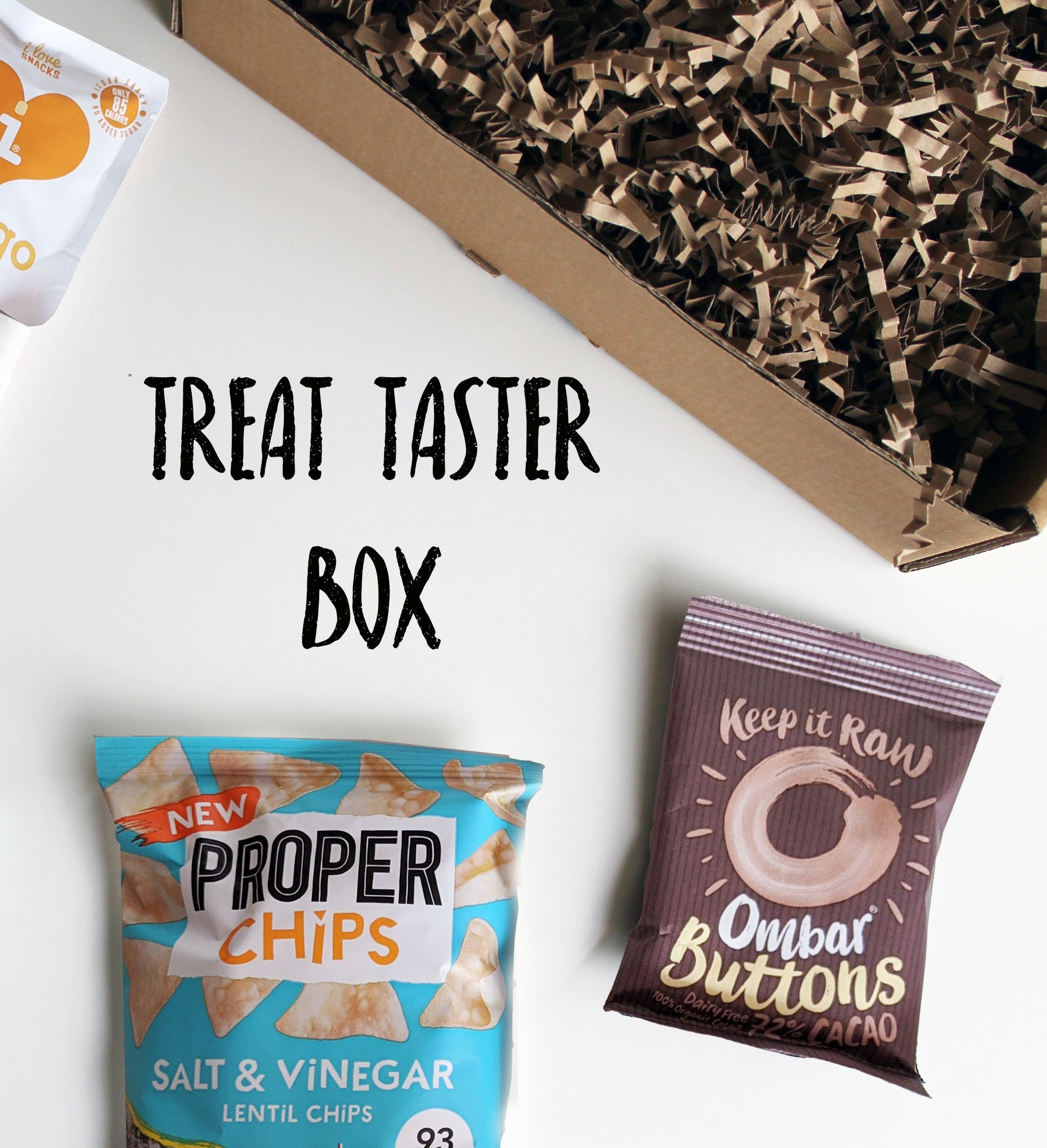 VEGAN & GLUTEN FREE 'Taster' Healthy Treat Snack Box | Hamper