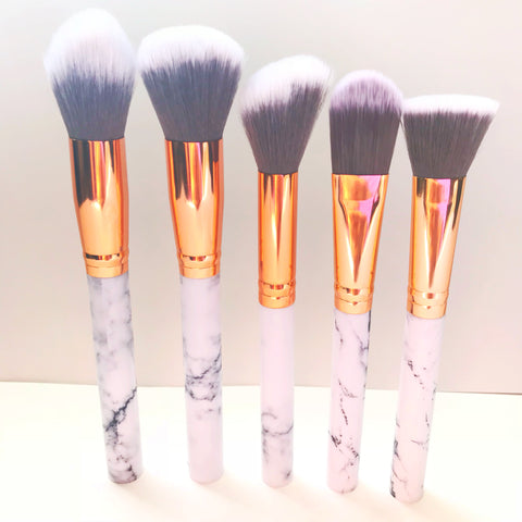 Marble Face Brush Set - Beautiful YAS