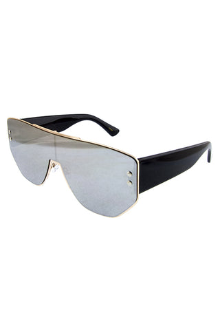 Metal Retro Sunglasses - Beautiful YAS