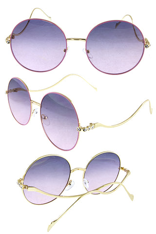 Rounded Sunglasses - Beautiful YAS