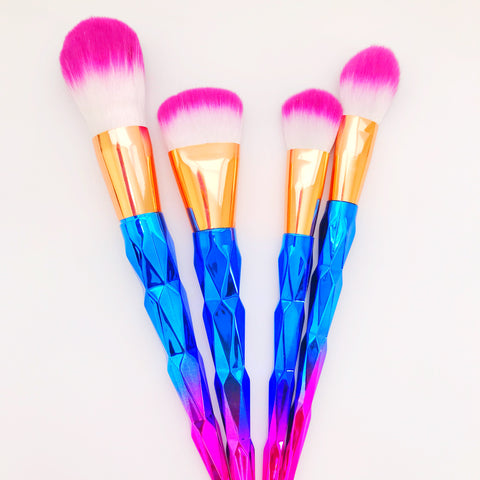 Unicorn Face Brush Set - Beautiful YAS