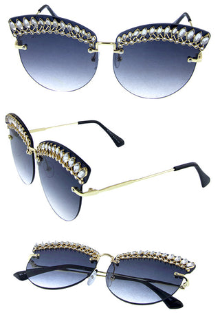 Butterfly Sunglasses - Beautiful YAS