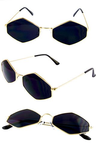 Metal Rim Sunglasses - Beautiful YAS