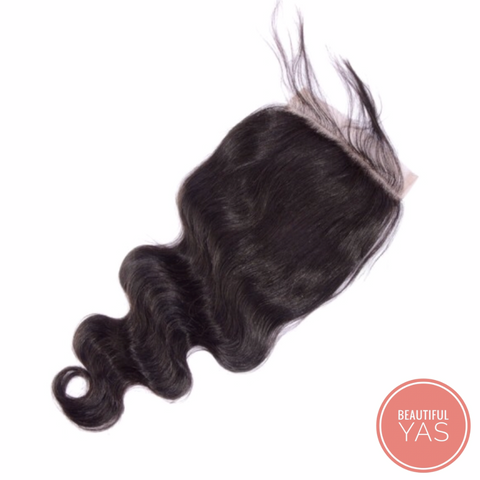 Body Wave Lace Closure - Beautiful YAS