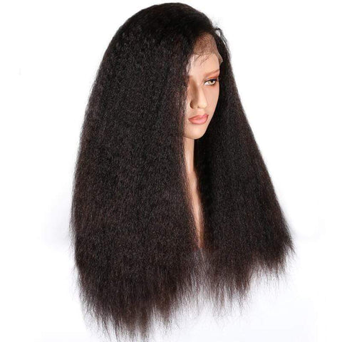 Kinky Straight Full Lace Wig - Beautiful YAS