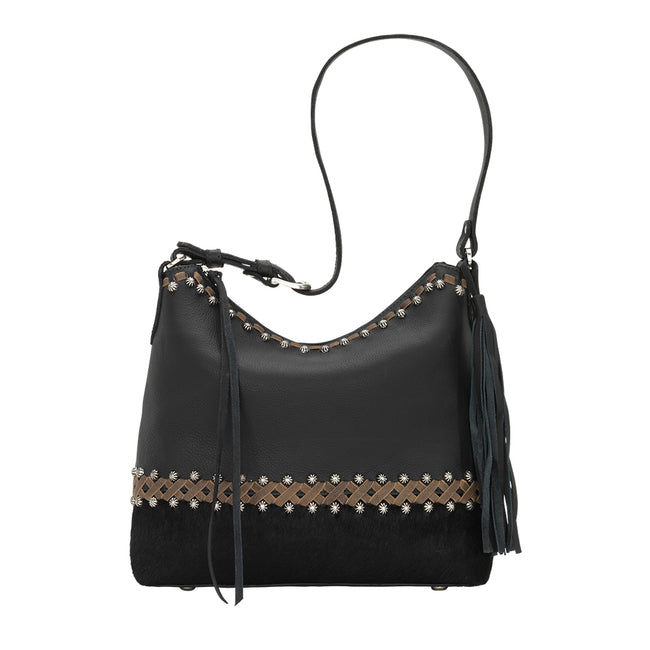 American West - Wild Horses Zip Top Shoulder Bag