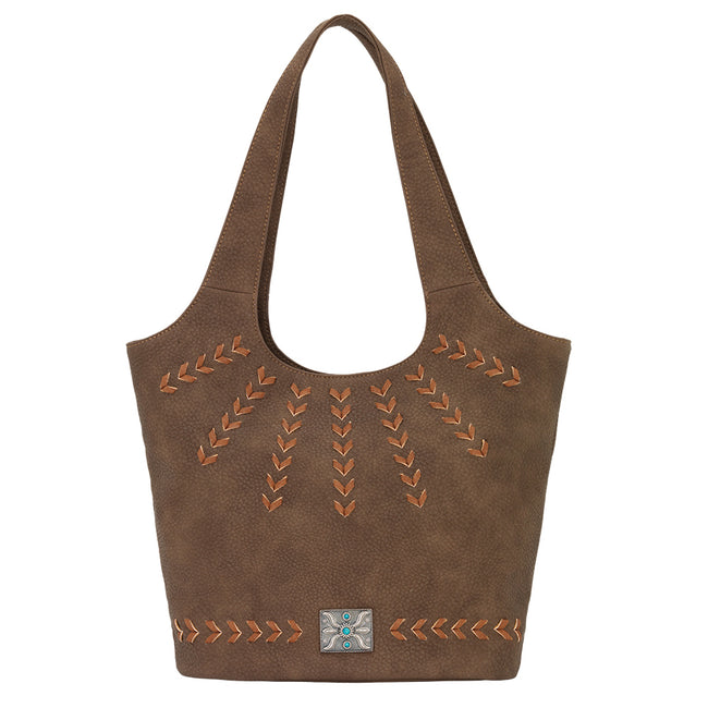 Bandana Sagebrush Soft Bucket Tote