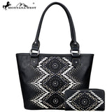 ABS-011W American Bling Aztec Collection Tote and Wallet Prepack (12 Set) Single Style