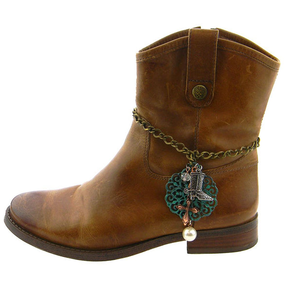 BOT180315-05  WESTERN CHARMS BOOT CHAIN