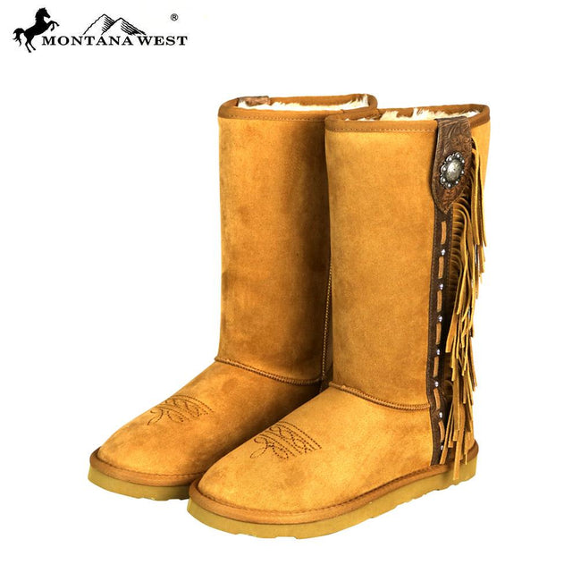 BST-107 Montana West Boots Fringe Collection- By Case
