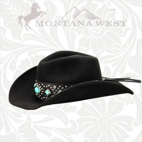 CHT-9011 Montana West Cowgirl Collection Hat