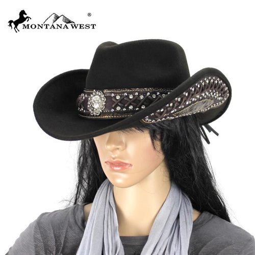 CHT-9017 Montana West Cowgirl Collection Hat