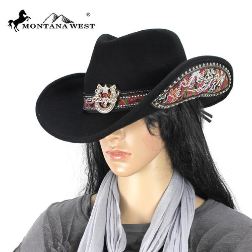 CHT-9018 Montana West Cowgirl Collection Hat