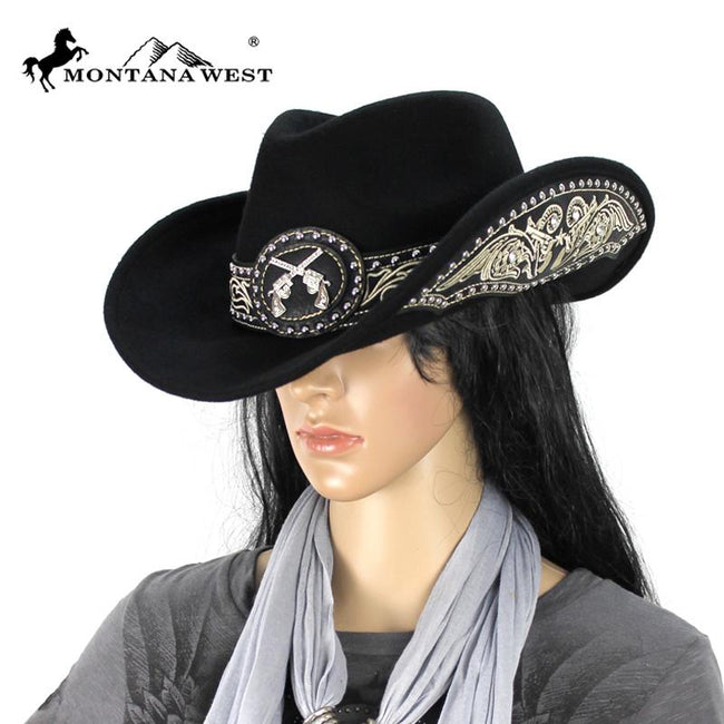 CHT-9020 Montana West Cowgirl Collection Hat